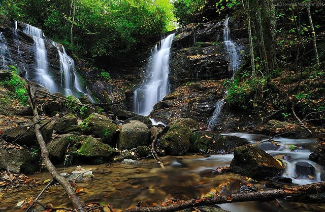 20 NC Waterfalls. NC is just the best =)    18. Soco Falls, HWY 19, Maggie Valley