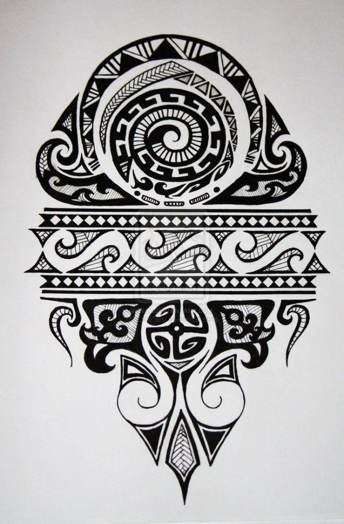Maori Tattoo Design - image details
