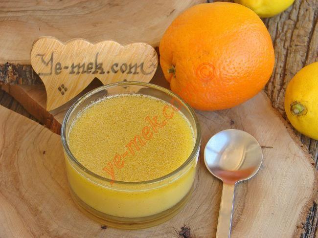 Portakallı Salata Sosu Resimli Tarifi - Yemek Tarifleri