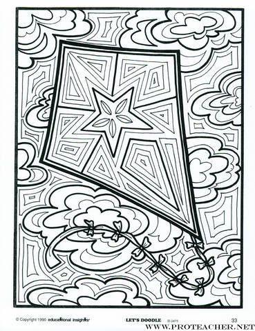 kite doodle
