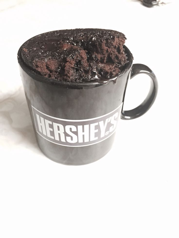 Mug Brownie from mix, just add water! 3/4 mug dry mix then ...