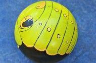 Bowling Ball Garden Art Ladybug | Backyard Projects - Birds and Blooms