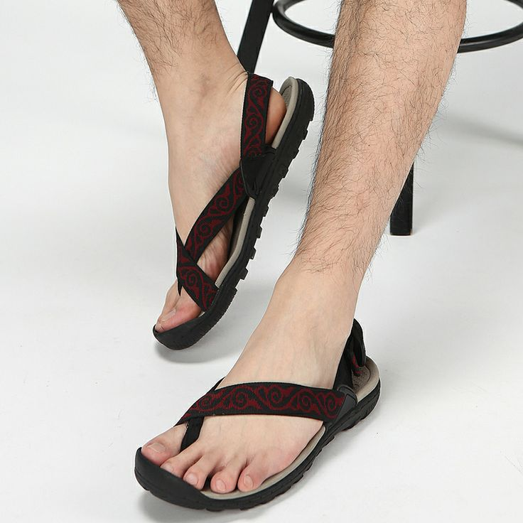 2014 vietnam shoes Men slippers summer sports male sandals the trend of casual male beach sandals short in size