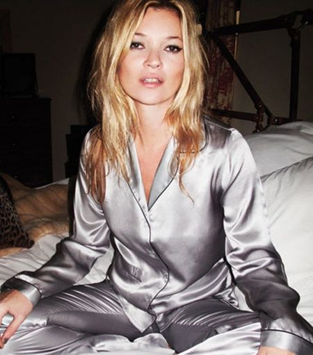 Ain't nothin' like a pj party #Kate Moss #dose