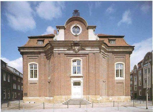 Klosterkirche Lotharinger Kloster in Münster, Architektur …