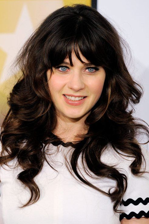hair styles with fringe 1000 images about make up hair on zooey 5051