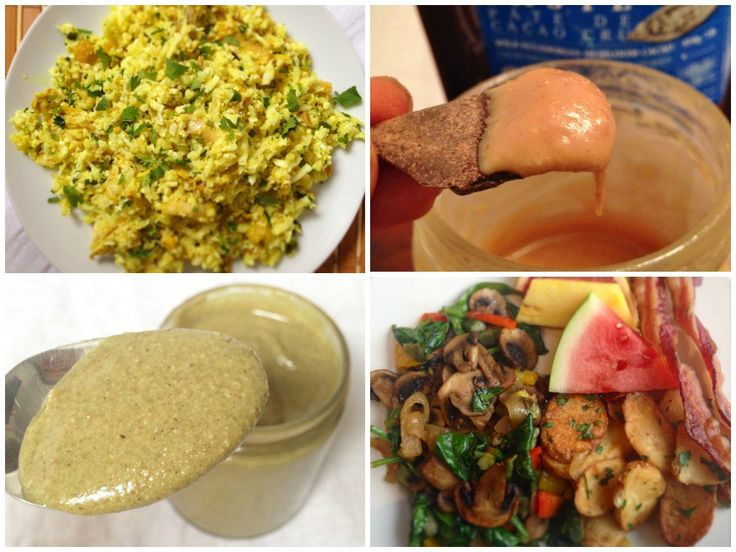 My Recent Healthy Eats 6 -- egg-free breakfast, homemade pumpkin seed butter, curried chicken and cauliflower rice and more