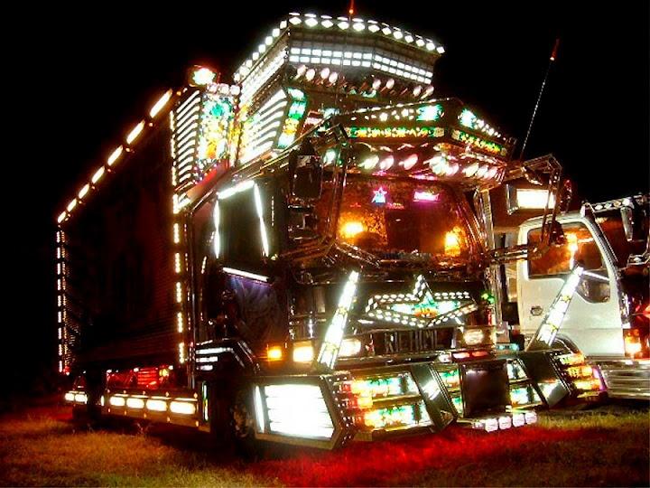 """Decotora"" Trucks Shine in the Night"