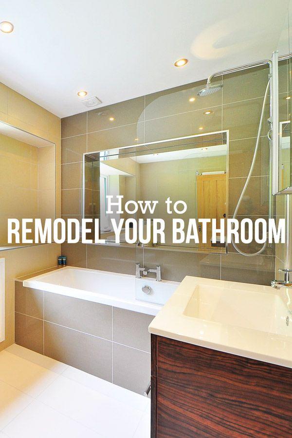 Diy Bathroom Remodel A Step By Step Guide Diy Bathroom Remodel