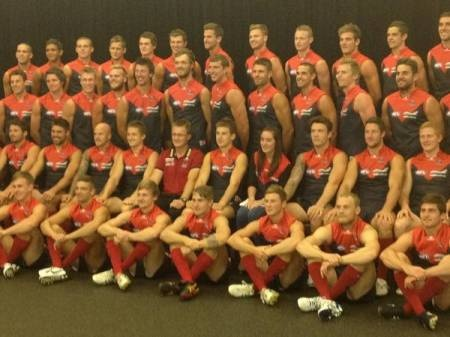 Melbourne Football Club AFL   The Demons