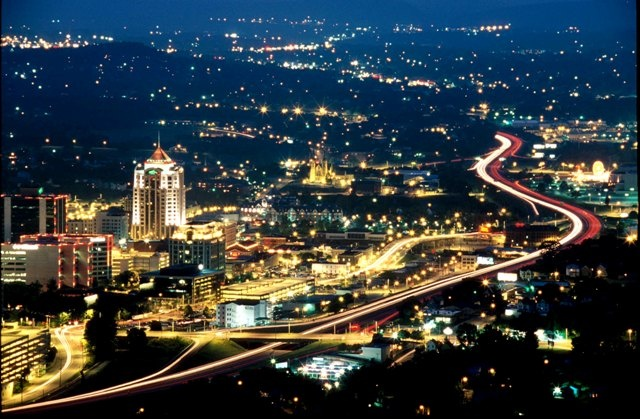 The Star City, Roanoke, Virginia
