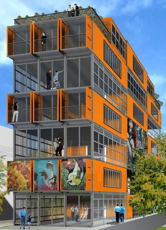 Cargo Containers Go Condo with CityCenterLofts in Salt Lake City...this never happened...