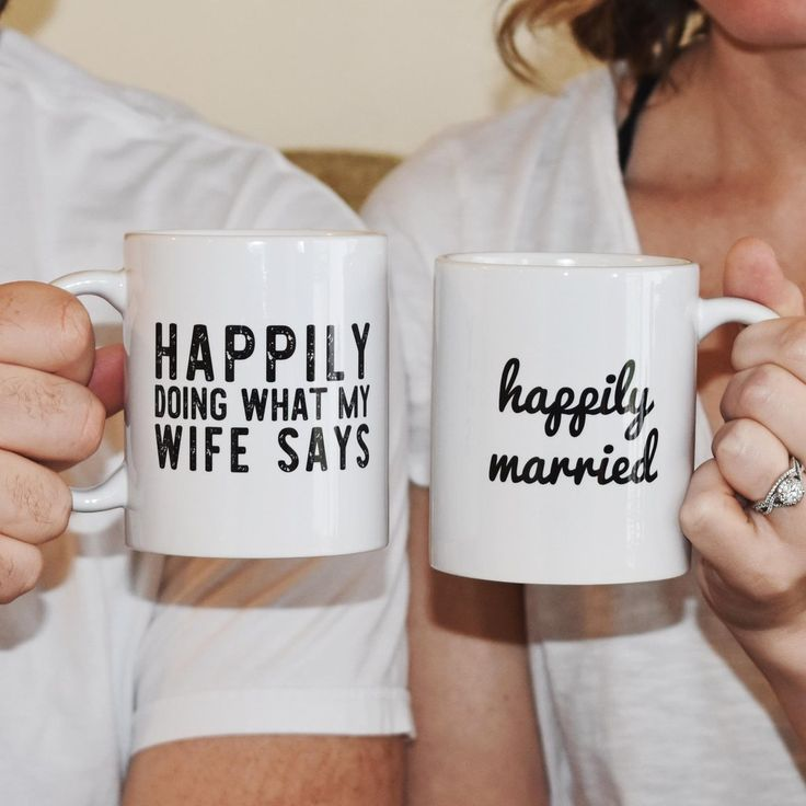 Brutally honest and 100% true. These are a must have for all happily married couples everywhere. Available in a 11oz. Ceramic Coffee Mug Product Material: Ceramic Microwave and Dishwasher Safe Mug Col