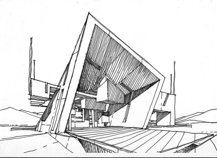 223 Best Architectural Sketches Images On Pinterest