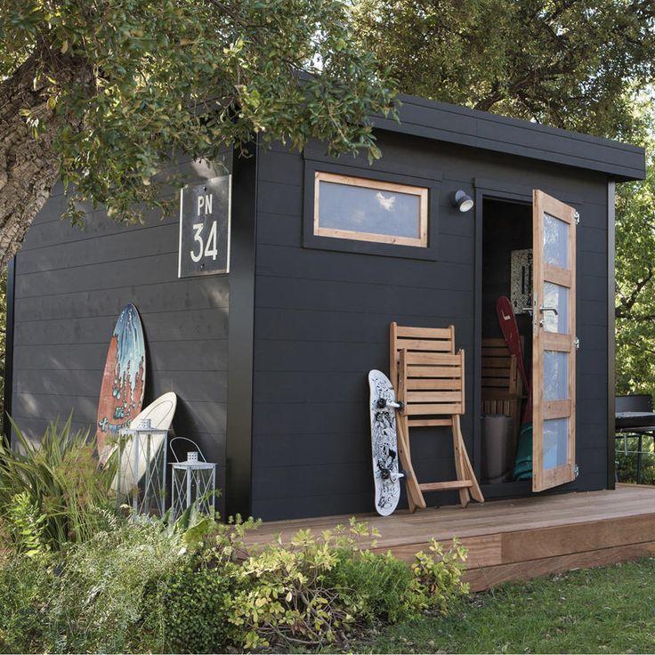 Abri de Jardin Leroy Merlin, promo Abri bois Elite pas cher 818 m²