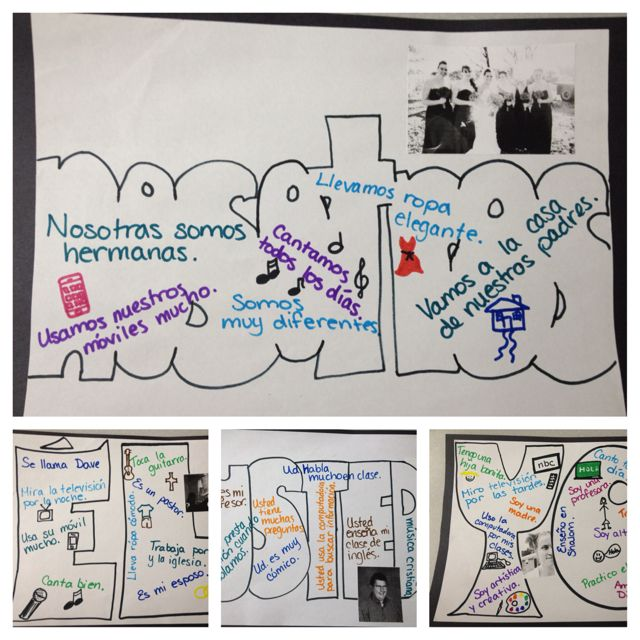 Teaching Spanish verb conjugation. I am going to assign a subject to each group and have them present their sentences to the class. This is great for all verb tenses!