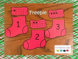 K.CC.1 I know a number represents a number of objects. Freebie. My Fabulous Class: December 2013