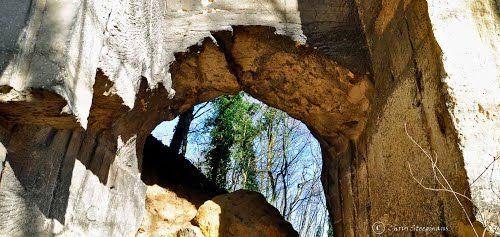 Limestone, man-made landscap