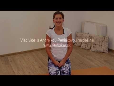 Cvičenie 5 tibeťanov - Andrea Peniaková pre Fitshaker.sk - cvičenie na doma pre ženy - YouTube