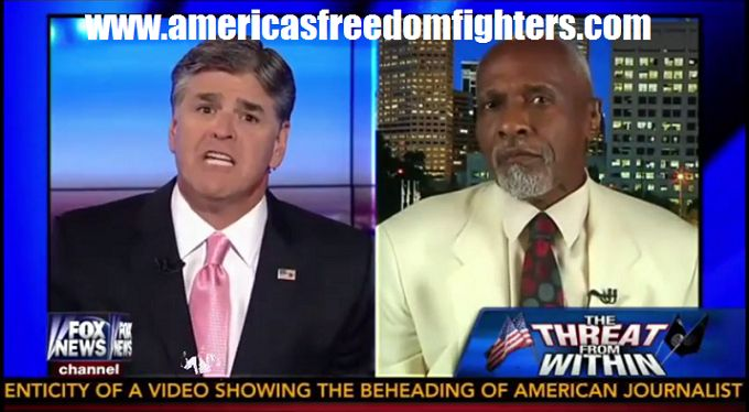 "Sean Hannity grilled one of his guests on groups like ISIS.  Hannity's guest asked about Phil Robertson's ""convert or die"" comments about ISIS on his show. Hannity went down a list of terrorists gr..."