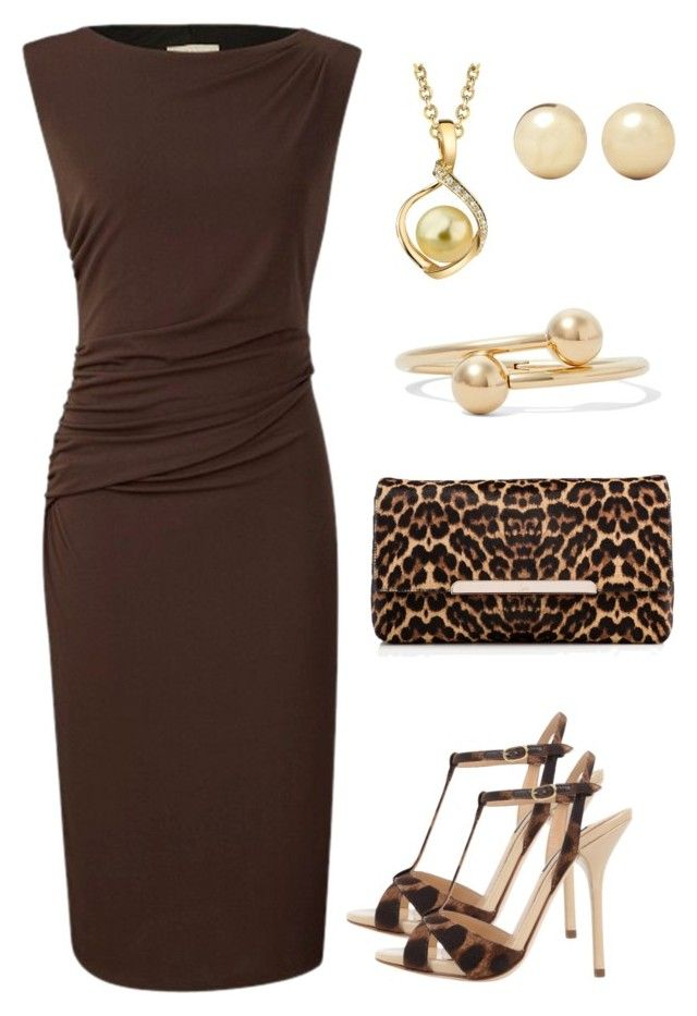 """Brown Lover"" by taniaisabel-1 on Polyvore featuring Planet, Dolce&Gabbana, Christian Louboutin, Kenneth Jay Lane and J.W. Anderson"