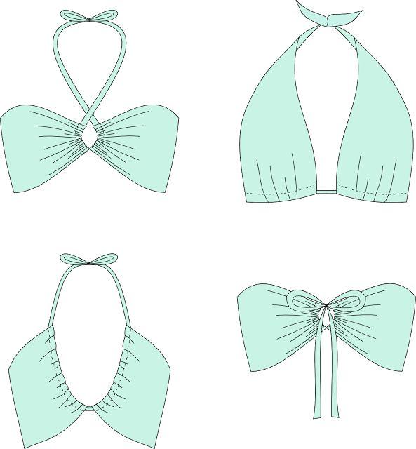 Couture De GratuitBikini Monroe♢ Patron Convertible Sew YfgybvI76