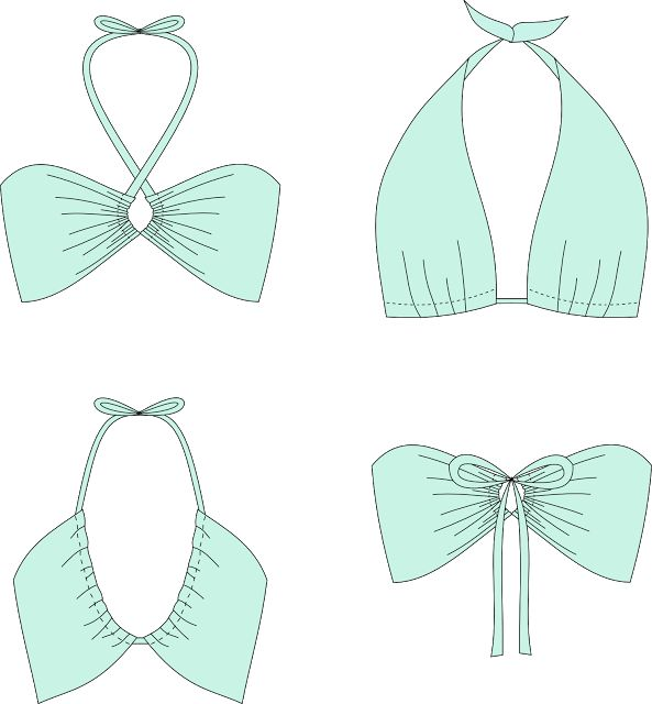 "patron couture gratuit : bikini convertible ""monroe"" maillot de bain"
