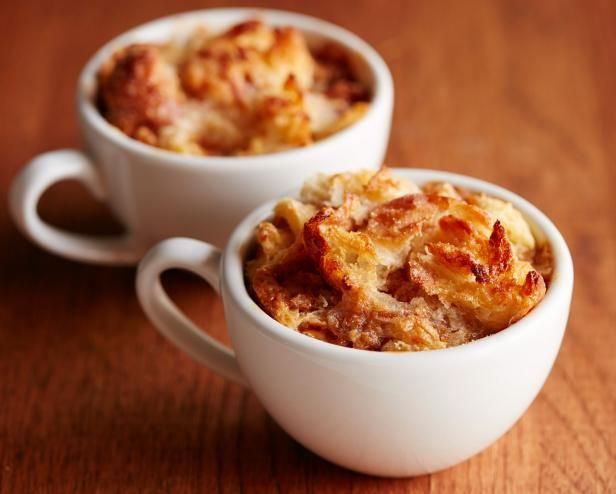 Get Caramel Bread Pudding for Two Recipe from Food Network