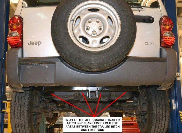Great Jeep Grand Cherokee Gas Tank Recall