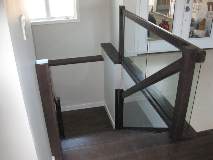 17 best images about stairs with glass inserts on pinterest