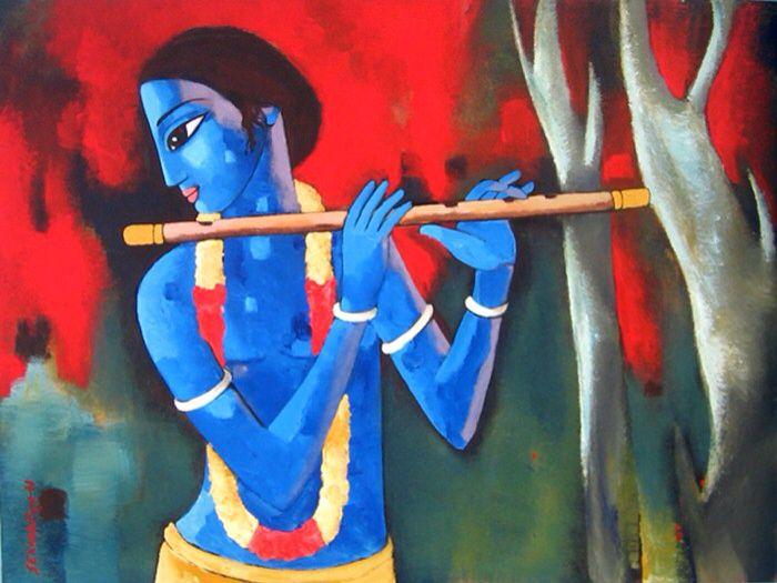 Sekhar Roy. Modern Indian artist