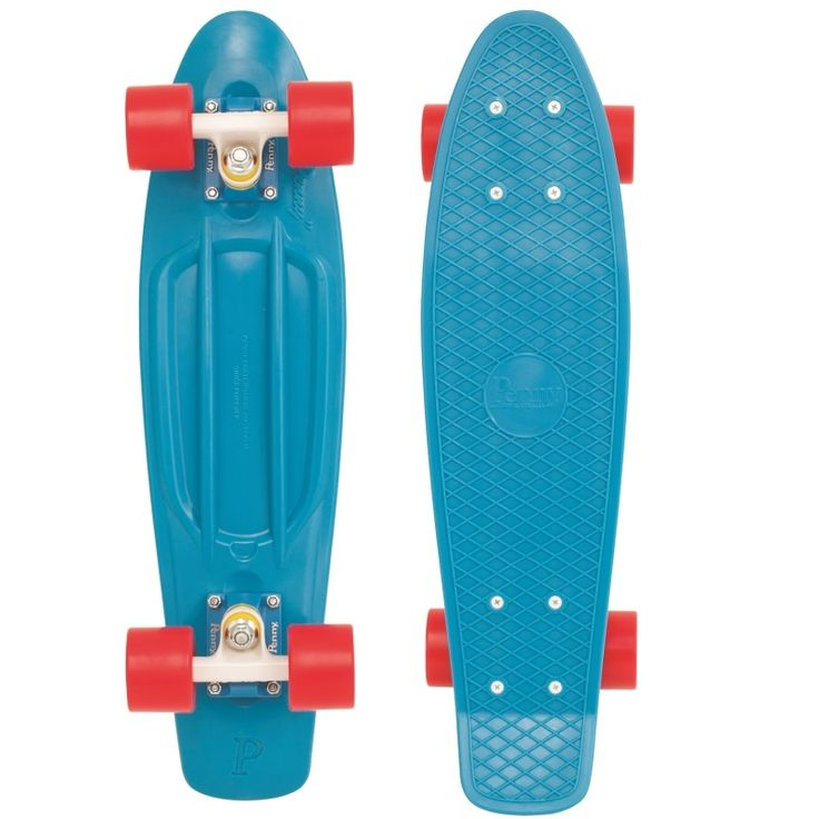 22 Inch Plastic Skateboard – You can have one for your kids or keep it in the car for yourself to get around in the city. Cheap and solid board for getting around. #skateboard #skating #kids #toys