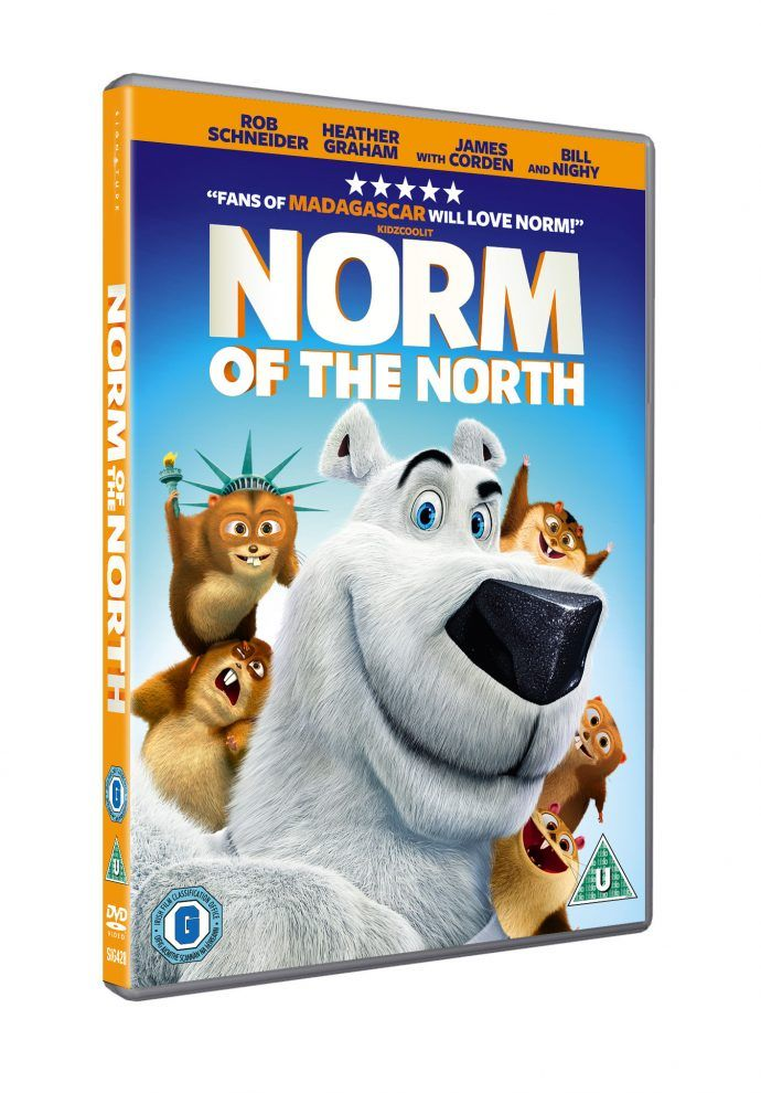 #Win a copy of Norm of the North on DVD - ends 18th August