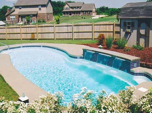12 best swimming cool pool rock waterfall fountain images on pinterest rock waterfall for Swimming pool supplies raleigh nc