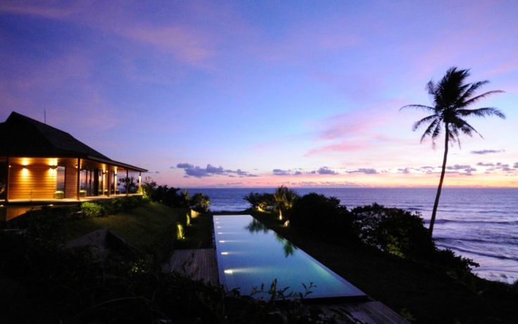 Villa Bulung Daya | 2 bedrooms | Tabanan, Bali #swimmingpool #garden #beach #ocean #cliff #villa #bali #holidayvilla #sunset
