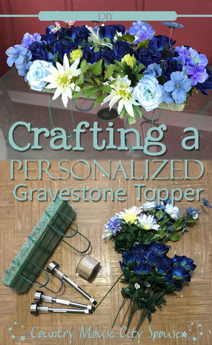 Crafting a Personalized Gravestone Topper for your Loved One