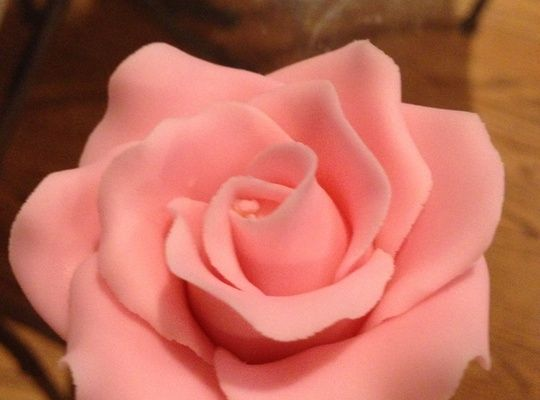 How to Make Fondant Rose