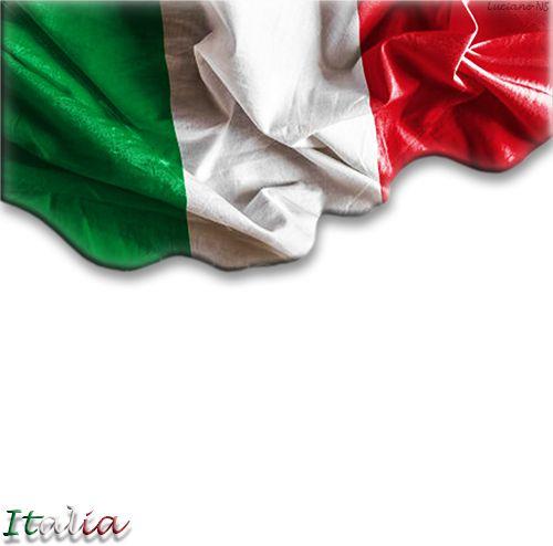 Flag of Italy - Flagge von Italien - Флаг Италии - Bandiera d'Italia