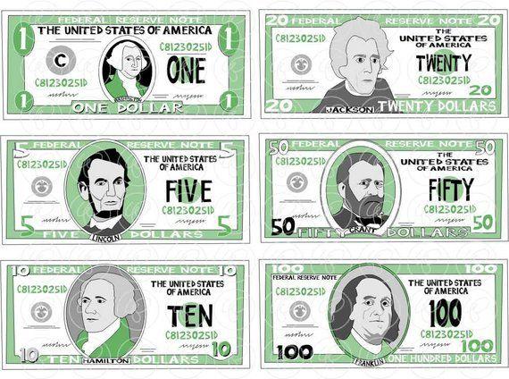 Clip Art: Canadian Money: Quarter Color I abcteach.com | abcteach