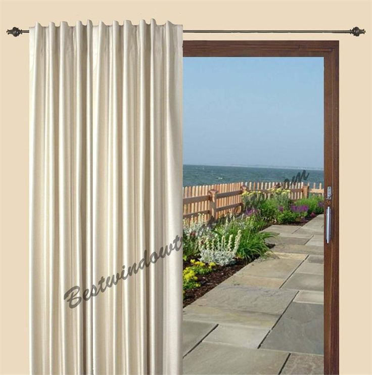 Fontaine Insulated Patio Curtain In 4 Colors | Patio Curtains, Insulated  Curtains And Patios