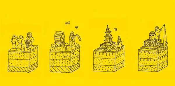 鬼才插畫家寄藤文平筆下的日本歷史
