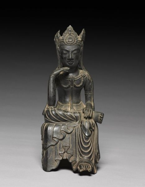 Buddha of the Future (Maitreya) Japan, late Asuka-early Nara Period (600-710) Date: late 7th Century The Cleveland Museum of Art ♥♥♥