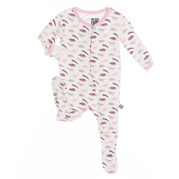Print Footie Pajamas  Girls