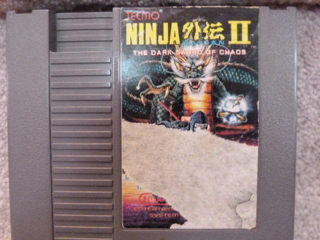 Nintendo NES Ninja Gaiden II: The Dark Sword of Chaos Game Cart Only 2 - GUARENT 18946110103 | eBay