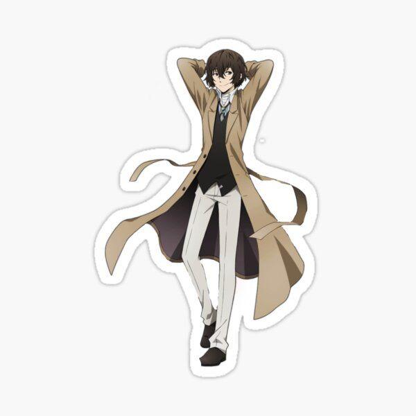 Osamu Dazai Sticker By Kassv1019 Anime Printables Kawaii Stickers Dazai