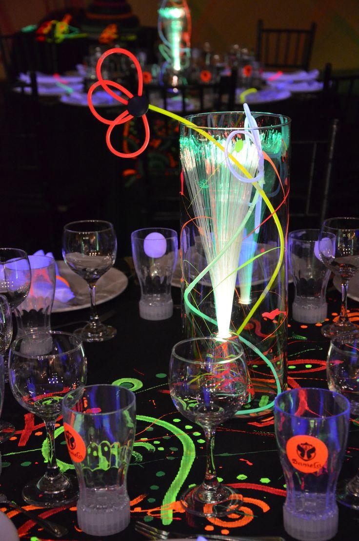 80s Theme Party Decoration Ideas Part - 45: ... 80s Theme Party Ideas. See More. NEON CENTERPIECE