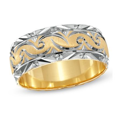 ladies version  $499Two Ton Gold, 8 0Mm Swirls, Lady Version, Jewels Lady, Wedding Bands, Buy Lady, 14K Two Ton, Products, My Wedding
