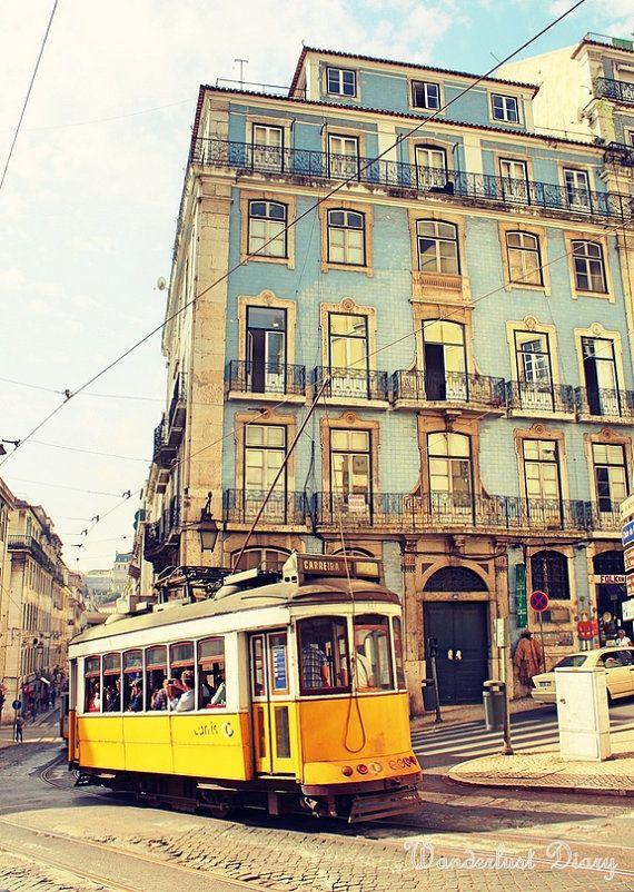 Lisbon, Portugal Streetcars