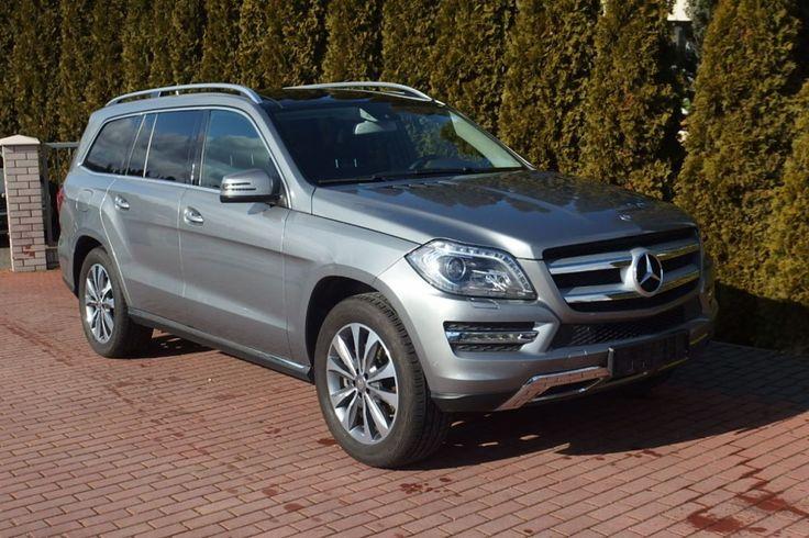 Mercedes GL 420 - GL400 4 matic Harman/Kardon Pneumatyka Hak 360 Kamery