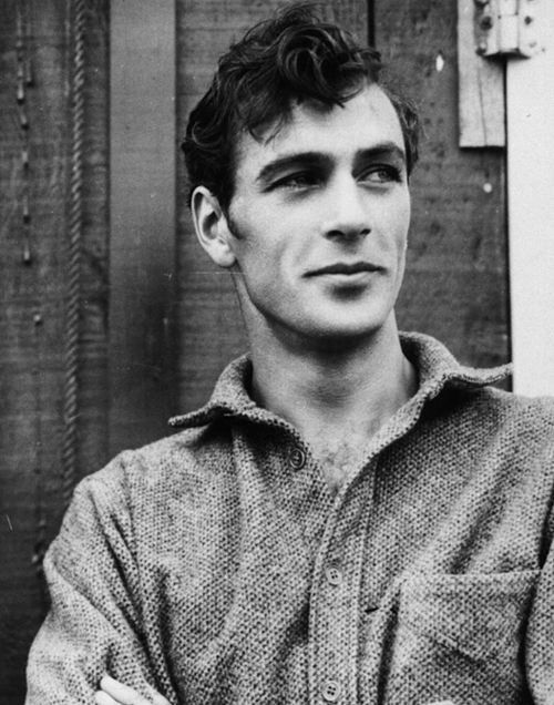 Gary Cooper on the set of The Spoilers, by Earl Crowley, 1930